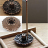 Lotus Shape Incense Burner Holder Censer Plate For Stick Cone With 9 Holes One