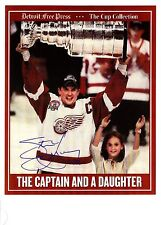 Steve Yzerman Stanley Cup celebration w/daughter - very Rare!