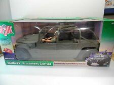 "RARE GI JOE HUMVEE ARMAMENT CARRIER 1/6 VEHICLE 12"" Figure Hummer Vehicle NIB"