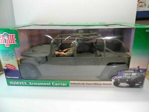 REDUCED VERY RARE GI JOE HUMVEE ARMAMENT CARRIER 1/6 VEHICLE NIB!