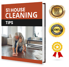 51 House Cleaning Tips - Ebook Pdf With Resell Rights