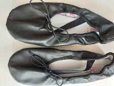 Merlet Ballettschläppchen ECLAT Gr 32,5 schwarz Leder nur 1x getragen !!