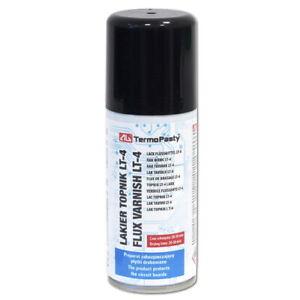 Flux de Vernis LT4 - protège PCB contre l'oxydation et la corrosion Spray 100ml