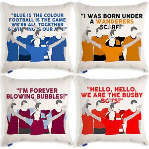Football Cushion Cover True Fan Pillow Christmas Gift Birthday All Teams TFC