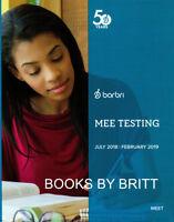 Barbri Bar Exam MEE Essay TESTING 2018-2019 for UBE Multistate- BRAND NEW