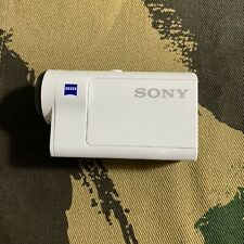 Sony Digital Hd Video Camera Recorder Action Cam Domest Hdr-As300 White Body F/S