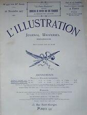 L' ILLUSTRATION No 4421 . 26 novembre 1927 . Le naufrage du Pricipessa Mafalda .