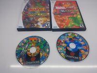 Marvel vs. Capcom 1 & 2 Sega Dreamcast  U.S. Reproduction Free Shipping