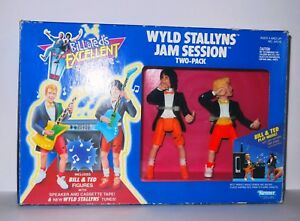 Bill and Ted Wyld Stallyns Jam Session Hasbro Vintage 1991 - Used