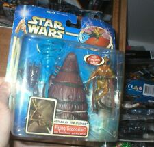 STAR WARS AOTC, FLYING GEONOSIAN WITH SONIC BLASTER AND ATTACK POD, UNOPENED