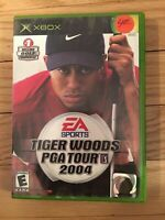 EA SPORTS TIGER WOODS PGA TOUR 2004 - XBOX- WITH MANUAL - FREE S/H - (SS)