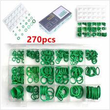 270pcs Car Air Conditioning A/C Repair HNBR Green O-Ring Seal 18 Sizes Hand Kit