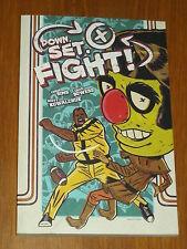 DOWN. SET. FIGHT! ONI PRESS CHRIS SIMS CHAD BOWERS GRAPHIC NOVEL 9781620101162 <