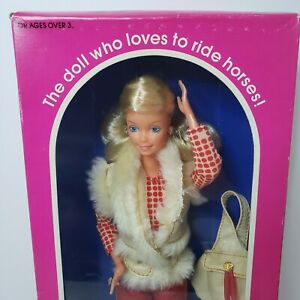 NIB Horse Lovin' Barbie Mattel #1757