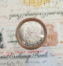 $20 Original BU Silver Dollar Bank Roll 1879 and CC Morgan Ends