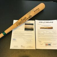 Extraordinary Mark Mcgwire Signed Game Used 1988 All Star Game Bat PSA DNA & JSA
