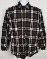 Vtg Pendleton Lodge Shirt Men's Sz S Long Sleeve Button Front Wool Washable USA