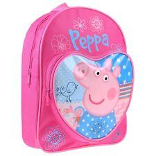 Peppa Pig Backpack I Girls Peppa Pig Rucksack I Kids Peppa Pig Bag