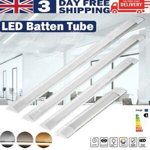 LED Strip Lights 1FT 2FT 3FT 4FT Batten Tube Light Garage Workshop Office Lamp