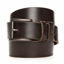 LEVI'S MEN'S LEATHER BELT NEW WITH TAGS BROWN 34 36 38 40 42 44 NEW NWT