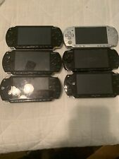 Lot Of 6 Sony PSP Consoles For Parts / Repair 1000, 2000, And 3000 Models