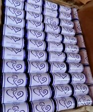 Personalised Mini Love Hearts Wedding Favours/Sweets swizzles x60 occasions