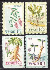 KOREA 1962 mint (*) SC#430/33 set, Korean plants.