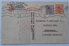 Denmark postal card 1923, have 95 years old, special price $ 10.00