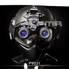 FMA Tactical Helmet NVB AN-PVS31 Dummy With Light Function Version B (Black)