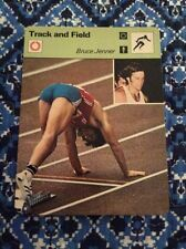 BRUCE JENNER OLYMPIC 1977 Card, Trading Card, Collectible
