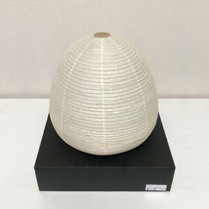 Isamu Noguchi Stand Light AKARI 1A Japanese paper, bamboo string w/ LED Bulb DHL