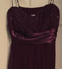 Purple Formal Charlotte Russe Dress - L