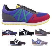 Armani Exchange Scarpe Uomo Sneakers XUX017 XCC68 vari colori autunno / inverno