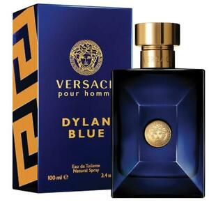 Dylan Blue Pour Homme by Versace 100ml EDT Spray Genuine Free Postage