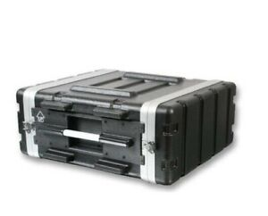 """Pulse 19"""" Rack ABS Flight Case for Amplifiers, Processing Equipment"""