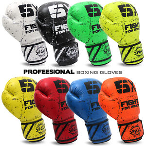 Boxing Gloves, MMA, Sparring Punch Bag, Muay Thai Training Mitts 6oz to 16oz