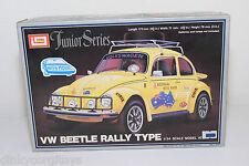 IMAI KIT B-1323 B1323 VW VOLKSWAGEN BEETLE KAFER RALLY TYPE WHITE MINT BOXED