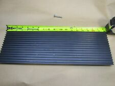 T Slot Aluminum Extrusion Tread Plate Black 5 7/8 x 18 inches
