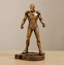 Iron Man 1/6 1:6 MARK VII MK43 31CM Brozen Painted Resin Model Decoration Statue