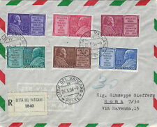 VATICAN : 1954 Marian Year  set  SG199-204 on First Day cover