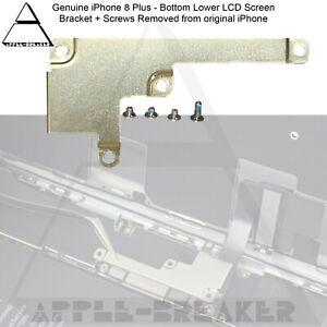 "iPhone 8 PLUS  8+ 5.5"" BOTTOM LOWER DISPLAY LCD SCREEN BRACKET AND SCREWS SET"