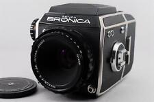 Exc+++ Zenza Bronica EC 6x6 Camera Body / NIKKOR-P.C 75mm f/2.8 From Japan  #82