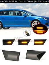 SCHWARZ LED SEITENBLINKER für OPEL SIGNUM | OPEL VECTRA C | BJ 2002 - 2008 |