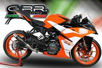 KTM RC125 2017/18 EXHAUST CARBON LOOK DEEPTONE BY GPR EXHAUSTS ITALY