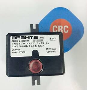 KIT CENTRALINA BRAHMA SM191N.1 RICAMBIO CALDAIE COMPATIBILE  CODICE: CRC9990124