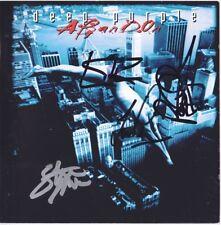 DEEP PURPLE Abandon IAN GILLAN Steve Morse Roger Glover & Paice Autograph SIGNED