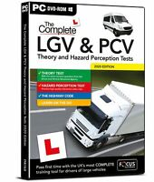 Complete LGV / PCV Theory & Hazard Perception Test PC DVD-ROM 2020 2021 Version