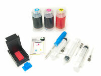 InkPro Tri-Color Ink Cartridge Refill Box Kit for Canon CL-241 / CL-241XL