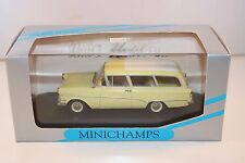 Minichamps Opel Rekord P1 Caravan 1958 - 1960 2 tone 1:43 perfect mint in box
