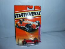 MOC MATCHBOX SPORTS CARS CATERHAM R500 SUPERLIGHT RARE 2010 ISSUE RED